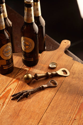Antiqued Brass Bottle Openers by Vagabond Vintage