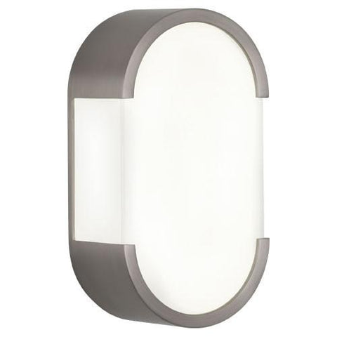 Bryce Wall Sconce in Brushed Nickel design by Robert Abbey