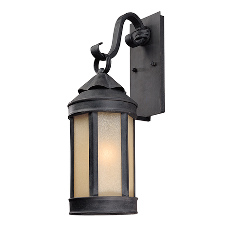 Andersons Forge Wall Lantern Medium by Troy Lighting