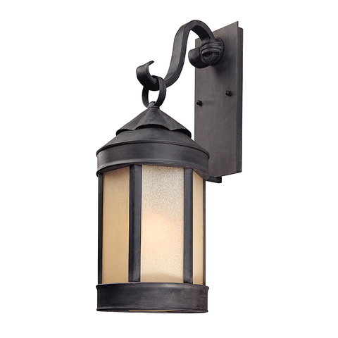 Andersons Forge Wall Lantern Large by Troy Lighting