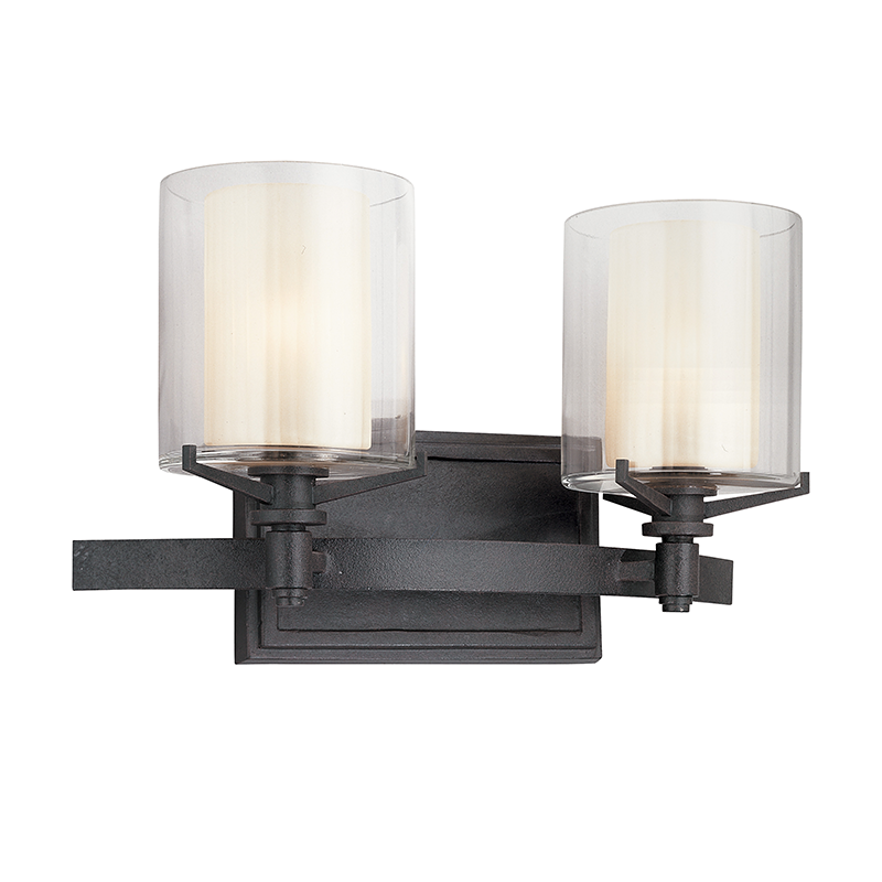Arcadia 2 Light Bath Sconce by Troy Lighting