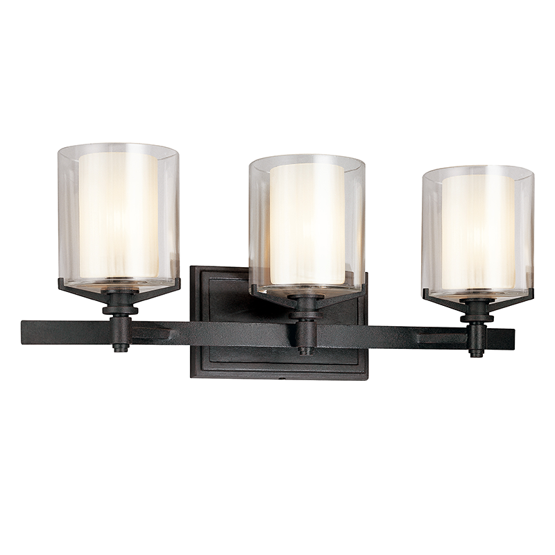 Arcadia 3 Light Bath Sconce by Troy Lighting