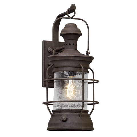 Atkins Wall Lantern Large by Troy Lighting