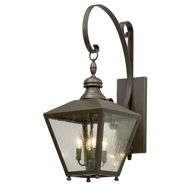 Mumford Wall Lantern Large by Troy Lighting