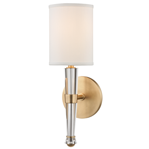 Volta 1 Light Wall Sconce by Hudson Valley Lighting
