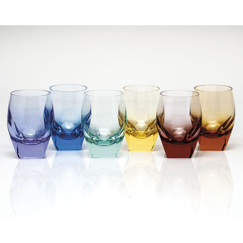 Set of 6 Bar Double Old Fashioned Glasses design by Moser