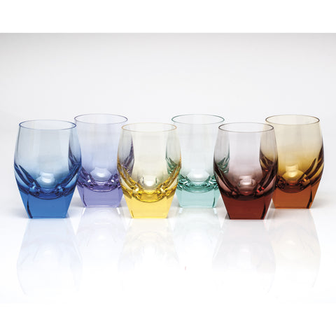 Set of 6 Bar Hiball Glasses design by Moser