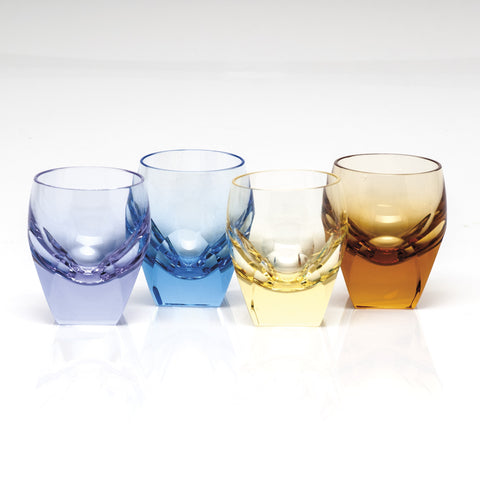 Set of 4 Bar Shot Glasses design by Moser