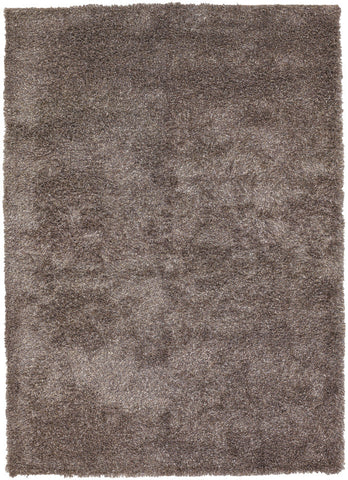 Barun Collection Hand-Woven Area Rug in Grey, Ivory, & Charcoal