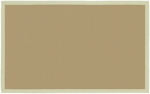 Bay Area Rug in Beige with Green Trim design by Chandra rugs
