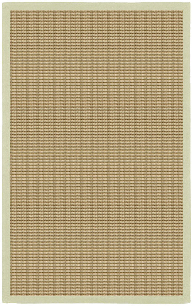 Bay Collection Hand-Woven Area Rug in Tan & Green design by Chandra rugs