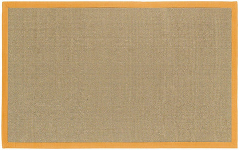 Bay Area Rug in Beige with Orange Trim design by Chandra rugs