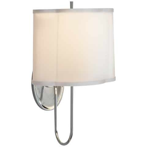 Simple Scallop Wall Sconce by Barbara Barry