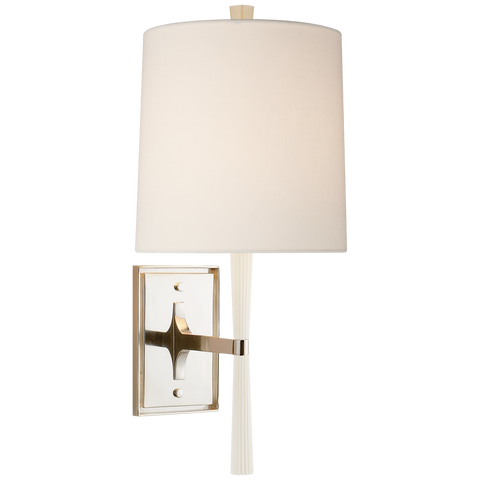 Refined Rib Sconce by Barbara Barry