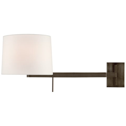 Sweep Medium Right Articulating Sconce by Barbara Barry