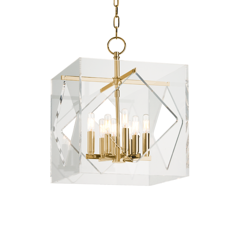 Travis 8 Light Pendant by Hudson Valley Lighting