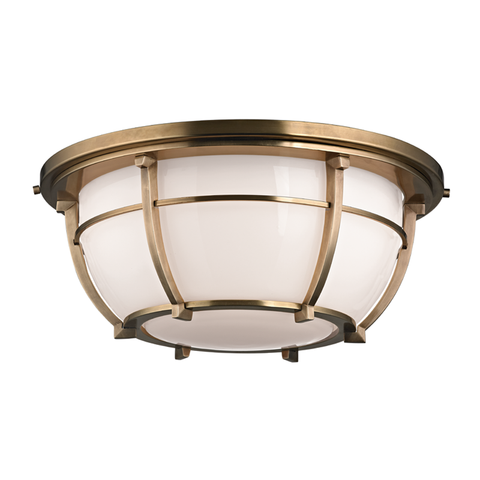 Conrad 3 Light Flush Mount by Hudson Valley Lighting