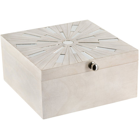 Blanca BCA-001 Box in White by Surya