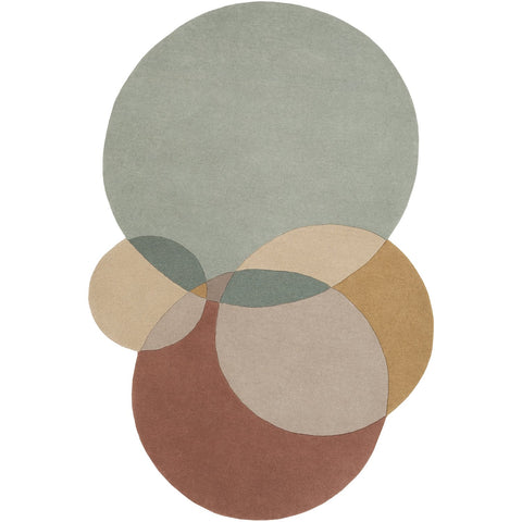 Beck BCK-1006 Hand Tufted Rug in Sage & Khaki by Surya