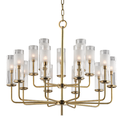 Wentworth 15 Light Chandelier by Hudson Valley Lighting