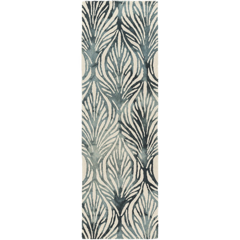 Belladonna BDA-3006 Hand Tufted Rug in Teal & Aqua by Surya