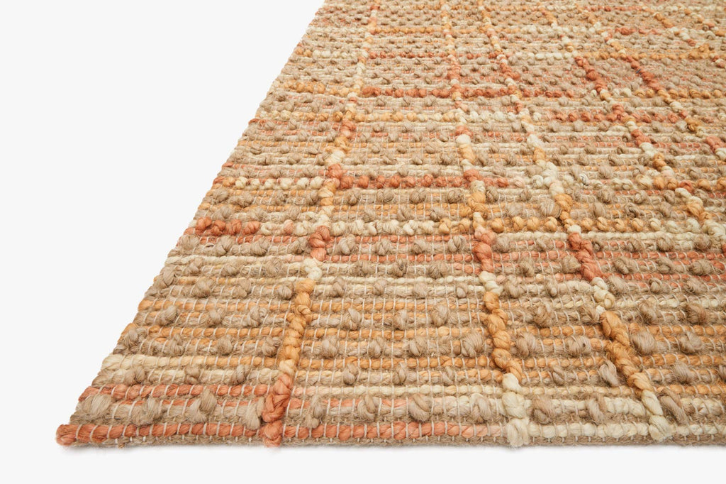 Beacon Rug in Tangerine design by Loloi
