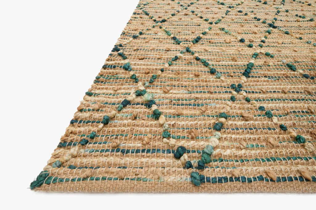 Beacon Rug in Aqua design by Loloi