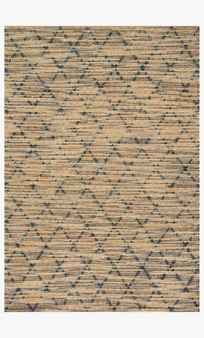 Beacon Rug in Navy design by Loloi