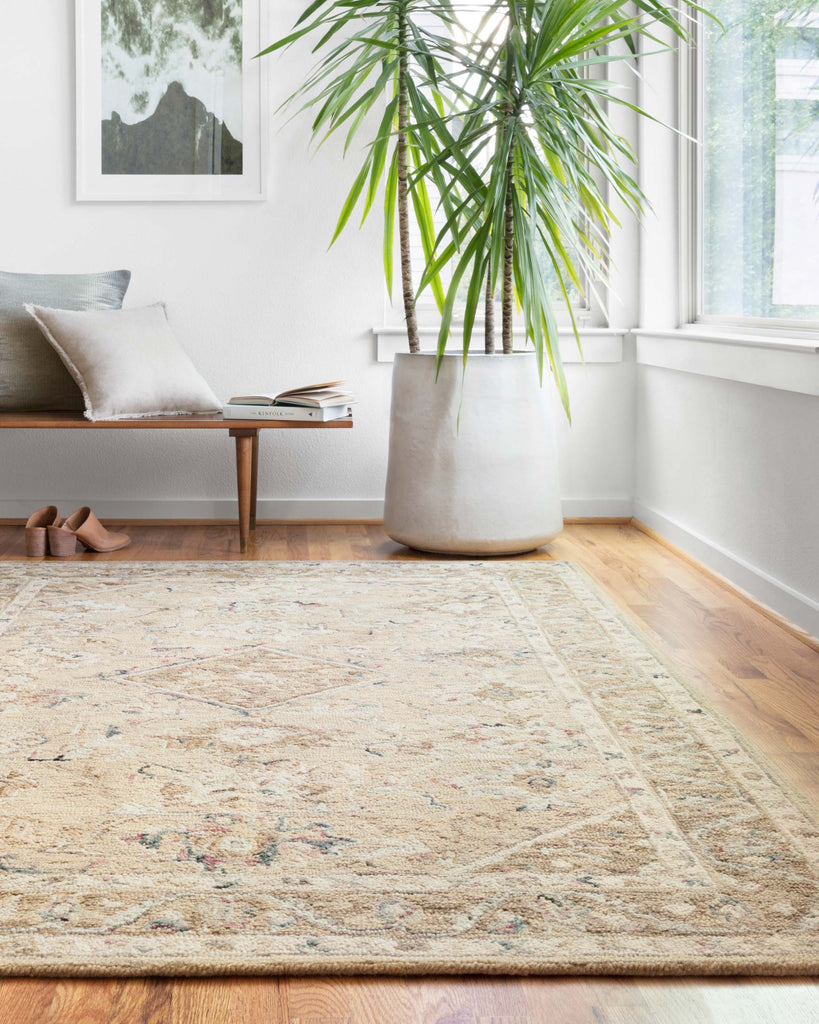 Beatty Rug in Beige & Ivory by Loloi II
