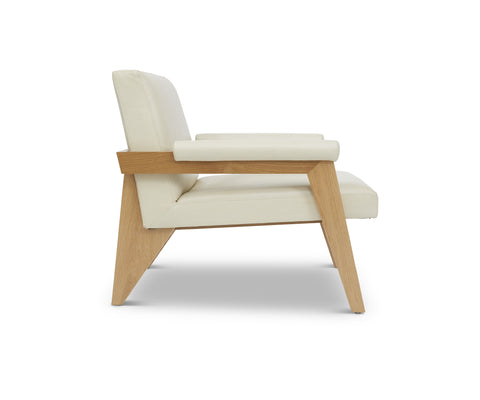 Beau Chair in Ivory