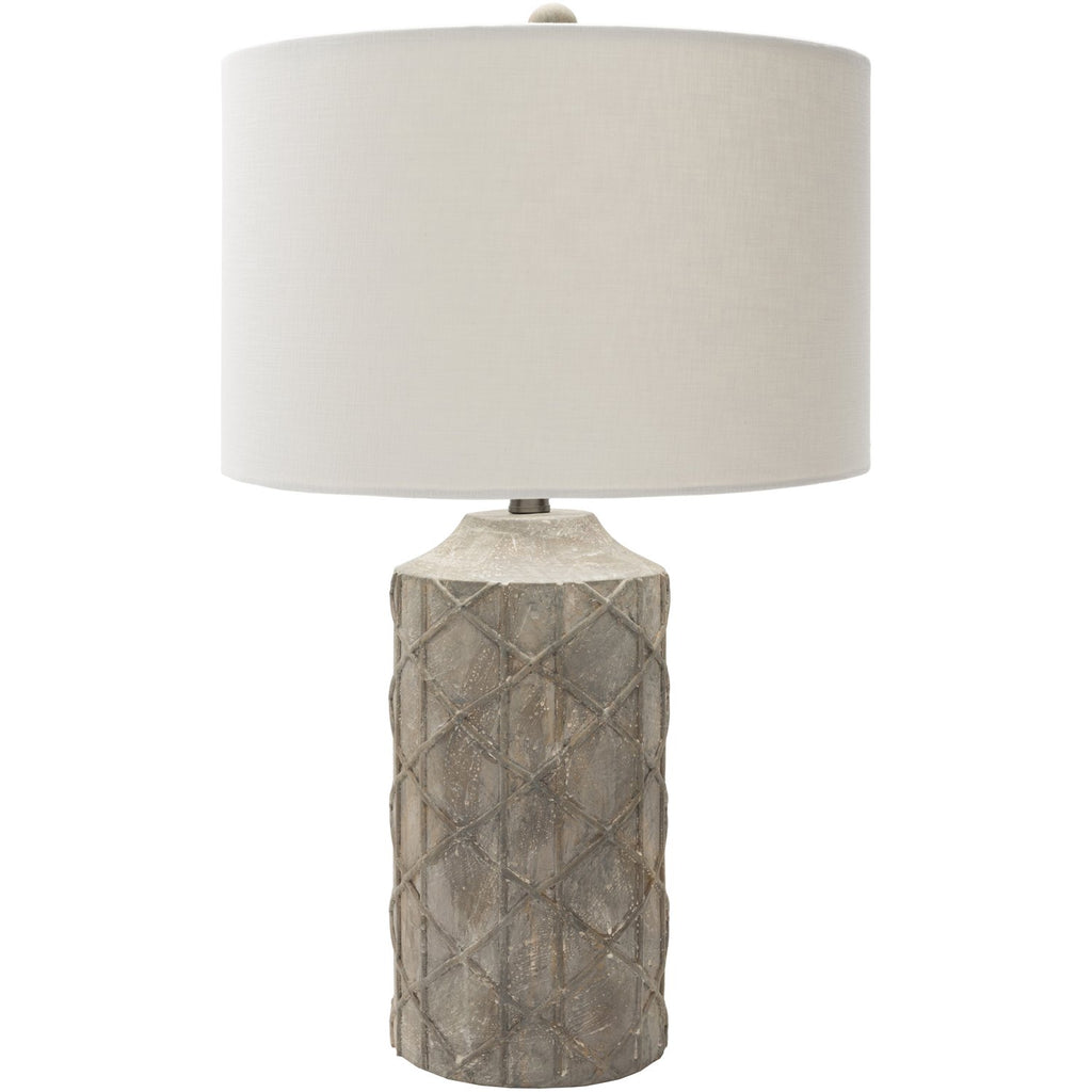 Brenda BED-100 Table Lamp in Camel & Ivory by Surya