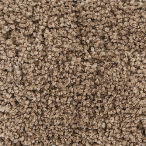 Bella Collection Hand-Woven Area Rug in Brown