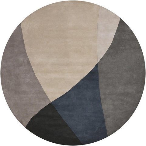Bense Collection Hand-Tufted Area Rug, Grey