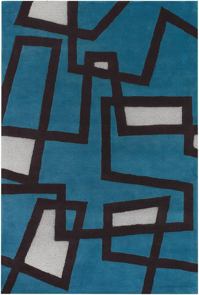 Bense Collection Hand-Tufted Area Rug, Blue design by Chandra rugs