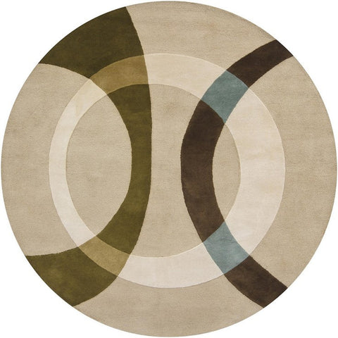 Bense Collection Hand-Tufted Area Rug, Beige design by Chandra rugs