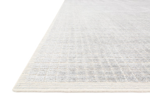 Beverly Rug in Silver / Sky by Loloi