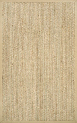 elijah seagrass w border rug in beige design by nuloom - Seagrass Rug