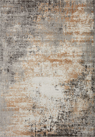 Bianca Rug in Stone / Gold by Loloi II