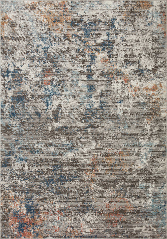 Bianca Rug in Granite / Multi by Loloi II