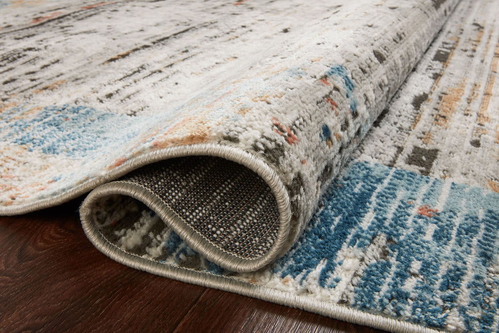 Bianca Rug in Ash / Multi by Loloi II