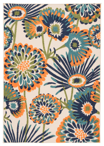 Balfour Indoor/ Outdoor Floral Multicolor Area Rug