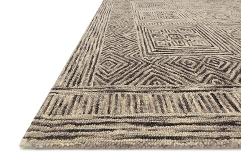 Boceto Rug in Grey / Charcoal by ED Ellen DeGeneres Crafted by Loloi