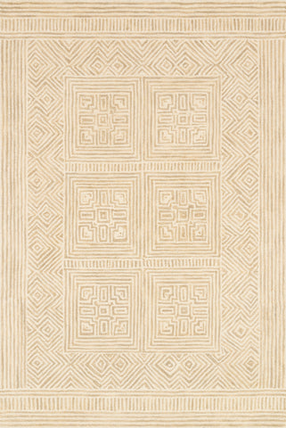 Boceto Rug in Ivory / Sand by ED Ellen DeGeneres Crafted by Loloi