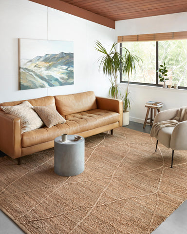 Bodhi Rug in Natural / Natural by Loloi II