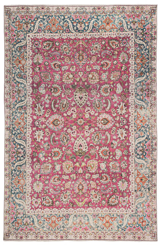 Parlour Oriental Multicolor/ Pink Rug by Jaipur Living