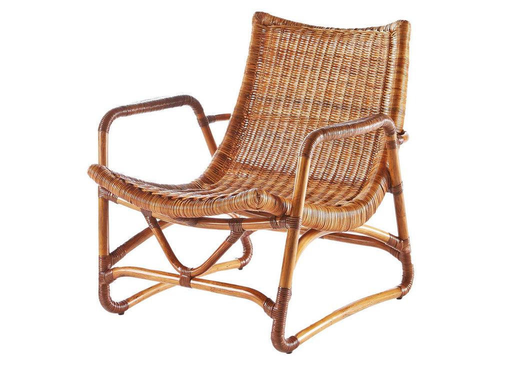 Bodega Lounge Chair + Ottoman by Selamat