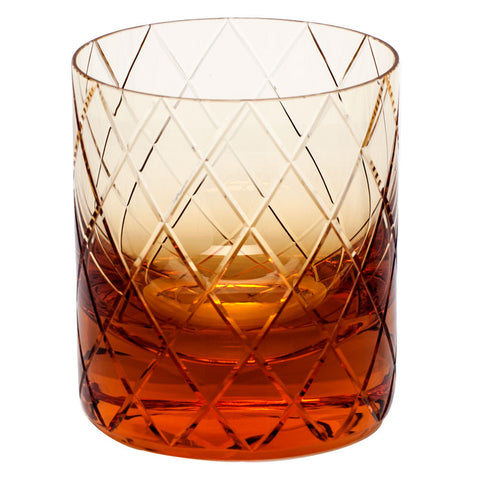 BonBon Double Old Fashioned Glass in Various Colors design by Moser