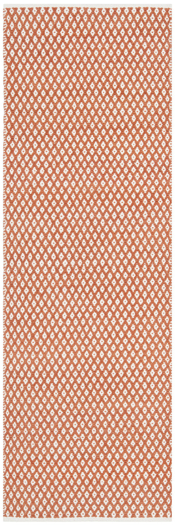 Boston Rug in Orange design by Safavieh