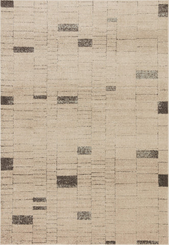 Bowery Rug in Slate / Taupe by Loloi II