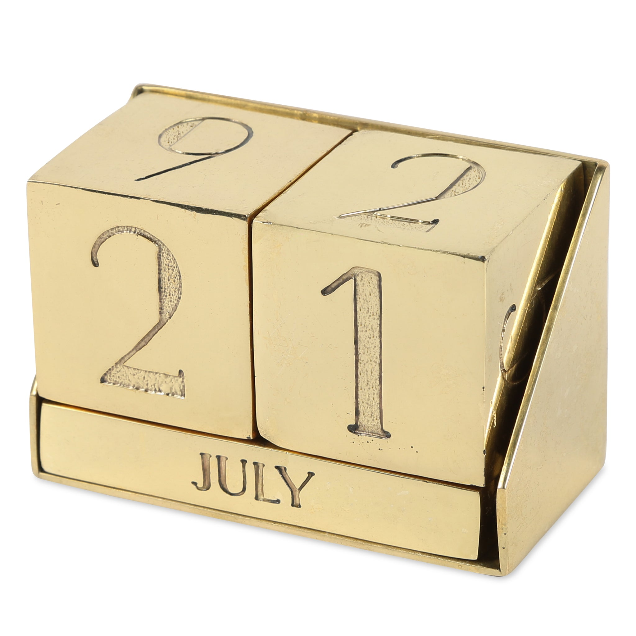 Block Perpetual Calendar Design By Sir Madam Burke Decor